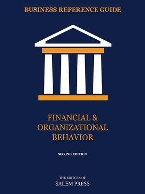 cover image of Financial & Organizational Behavior