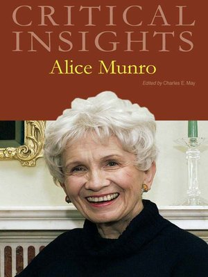 cover image of Critical Insights: Alice Munro