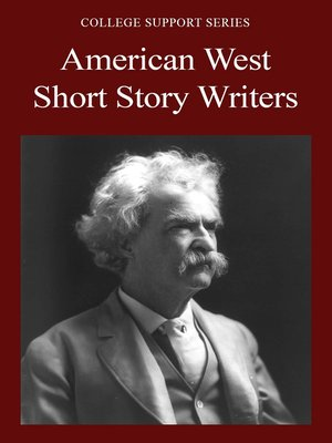 cover image of American West Short Story Writers