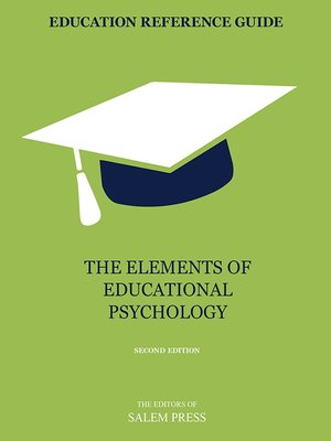 cover image of The Elements of Educational Psychology