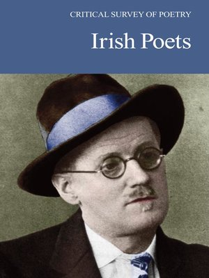 cover image of Critical Survey of Poetry: Irish Poets