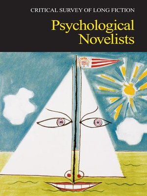 cover image of Critical Survey of Long Fiction: Psychological Novelists