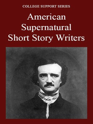 cover image of American Supernatural Short Story Writers