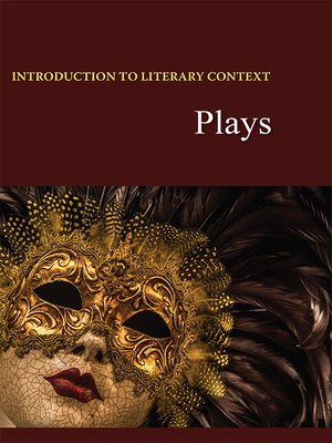 cover image of Introduction to Literary Context: Plays