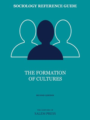 cover image of The Formation of Cultures