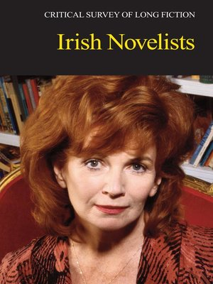 cover image of Critical Survey of Long Fiction: Irish Novelists