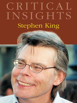 cover image of Critical Insights: Stephen King