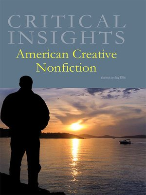 cover image of Critical Insights: American Creative Nonfiction