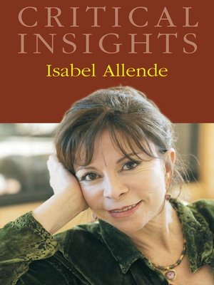 cover image of Critical Insights: Isabel Allende