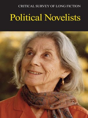 cover image of Critical Survey of Long Fiction: Political Novelists