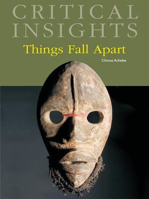 cover image of Critical Insights: Things Fall Apart