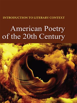 cover image of Introduction to Literary Context: American Poetry of the 20th Century