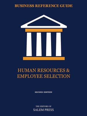cover image of Human Resources & Employee Selection