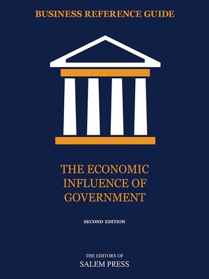cover image of The Economic Influence of Government