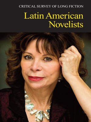 cover image of Critical Survey of Long Fiction: Latin American Novelists