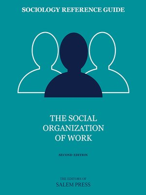 cover image of The Social Organization of Work