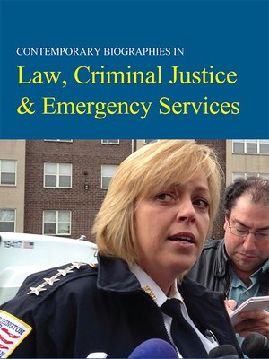 cover image of Contemporary Biographies in Law, Criminal Justice & Emergency Services