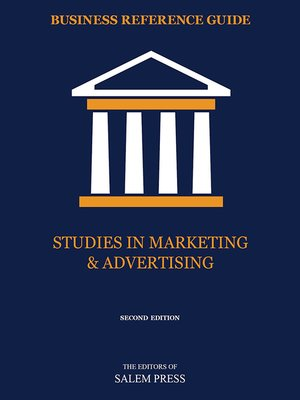 cover image of Studies in Marketing & Advertising