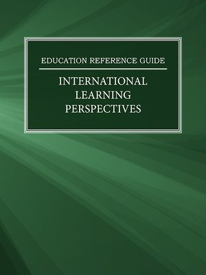cover image of Education Reference Guide: International Learning Perspectives