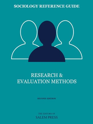 cover image of Research & Evaluation Methods