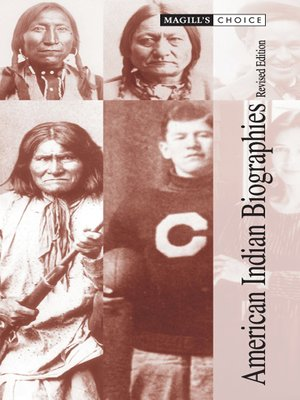 cover image of American Indian Biographies