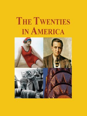 cover image of The Twenties in America