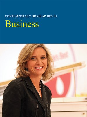 cover image of Contemporary Biographies in Business