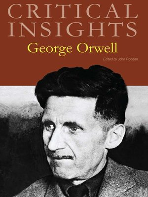 cover image of Critical Insights: George Orwell
