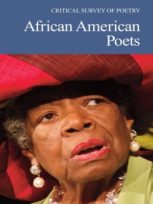cover image of Critical Survey of Poetry: African American Poets