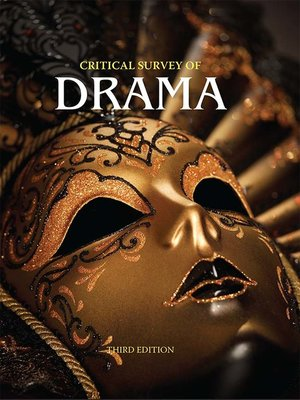 cover image of Critical Survey of Drama