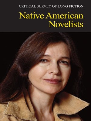 cover image of Critical Survey of Long Fiction: Native American Novelists