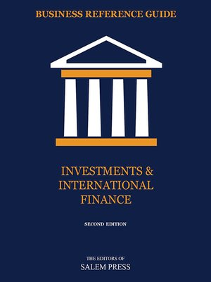 cover image of Investments & International Finance