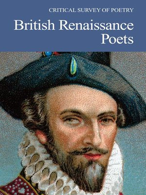 cover image of Critical Survey of Poetry: British Renaissance Poets