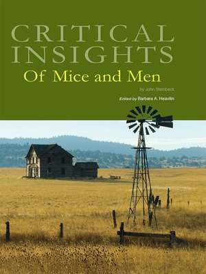 cover image of Critical Insights: Of Mice and Men