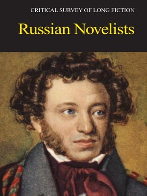 cover image of Critical Survey of Long Fiction: Russian Novelists