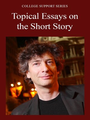 cover image of Topical Essays on the Short Story
