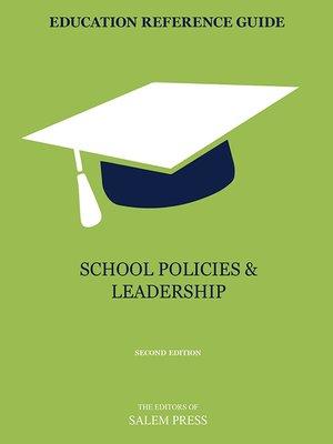 cover image of School Policies & Leadership