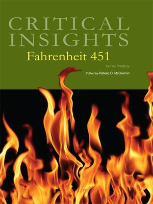 cover image of Critical Insights: Fahrenheit 451