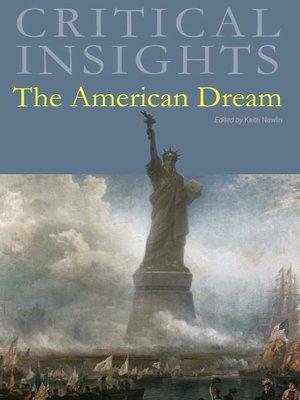 cover image of Critical Insights: The American Dream
