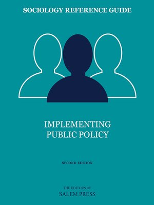 cover image of Implementing Public Policy