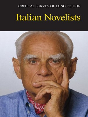 cover image of Critical Survey of Long Fiction: Italian Novelists