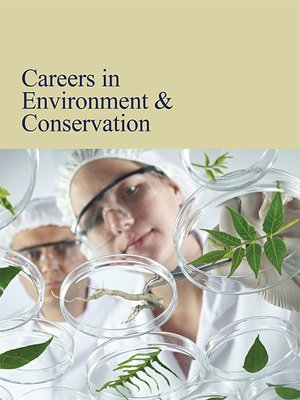cover image of Careers in Environment & Conservation