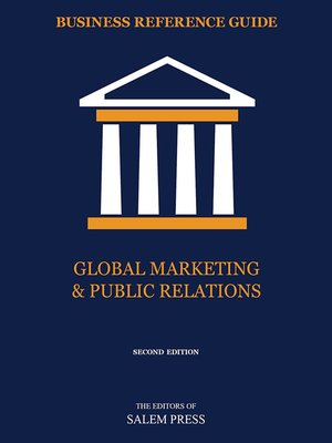 cover image of Global Marketing & Public Relations