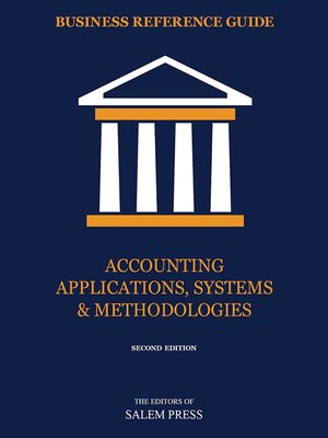 cover image of Accounting Applications, Systems & Methodologies