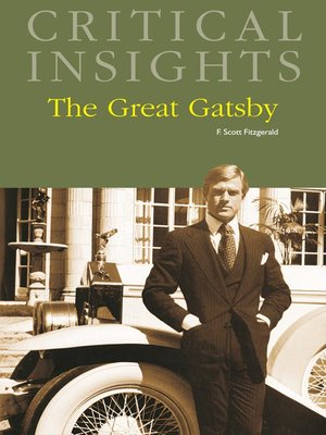 cover image of Critical Insights: The Great Gatsby