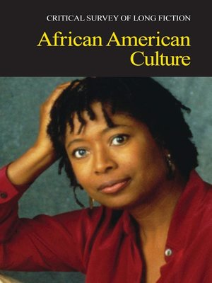 cover image of Critical Survey of Long Fiction: African American Culture