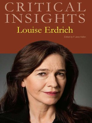 cover image of Critical Insights: Louise Erdrich