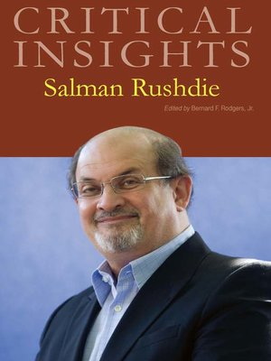 cover image of Critical Insights: Salman Rushdie