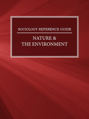 cover image of Sociology Reference Guide: Nature & the Environment