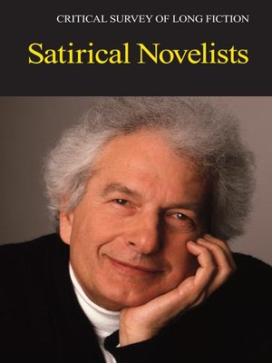 cover image of Critical Survey of Long Fiction: Satirical Novelists